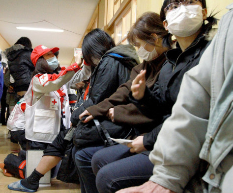 Image: A nurse from Japan Red Cross