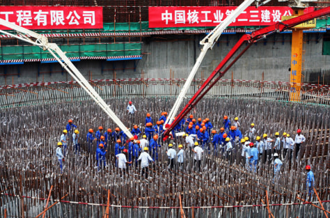 Fuqing Nuclear Power Plant Construction