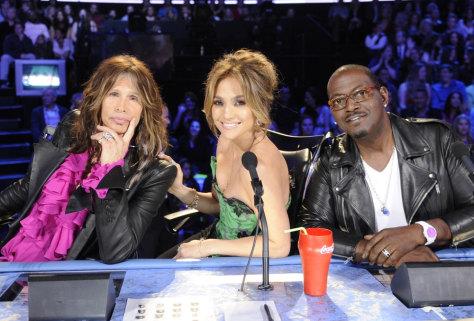 Image: Steven Tyler, J.Lo, Randy Jackson