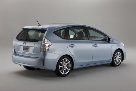 Image: Prius minivan