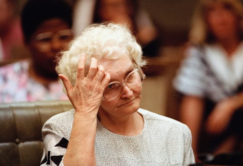 Image: Dorothea Puente in court at 1993 trial
