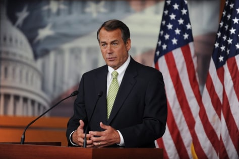 Image: Speaker of the House John Boehner