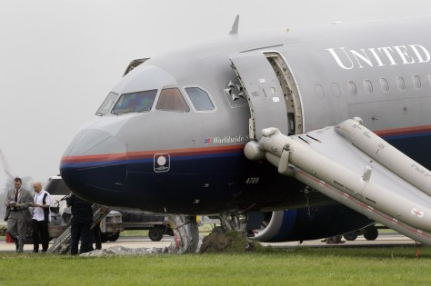 Image: United jet