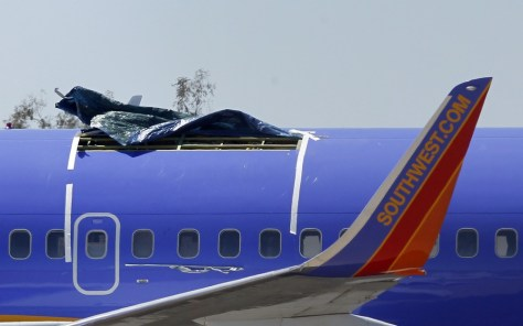 Why No One Was Sucked Out Of Southwest Jet Travel News Nbc News