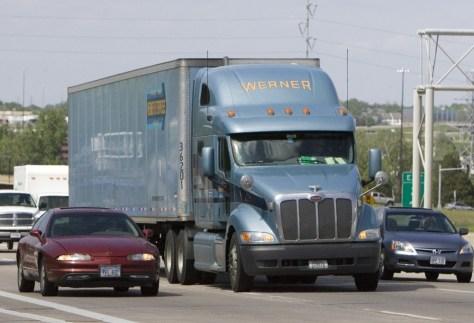 Image: A Werner Enterprises truck