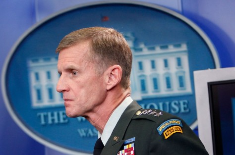 Image: File of Gen. McChrystal