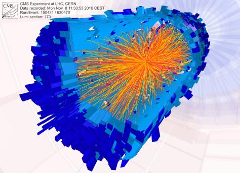 Image: Proton collision