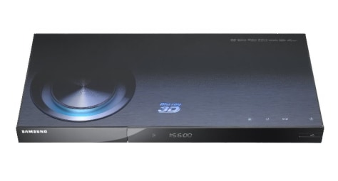 Image: Samsung 3-D Blu-ray player