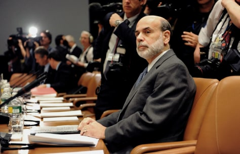 Image: Ben Bernanke in April 2009