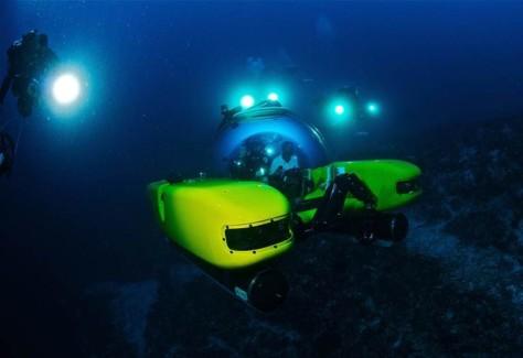 Image: Triton submarine prototype