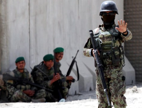Image: Afghan Army Pilot opened fire at his foreign trainers in Kabul