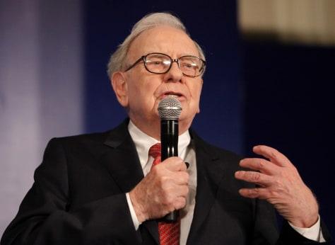 Image: Billionaire Warren Buffett