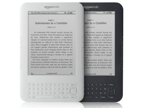 Image: Amazon Kindle e-readers