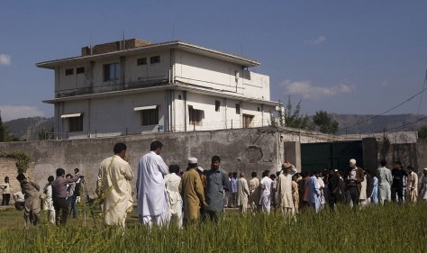 Image: Osama bin Laden's Compound