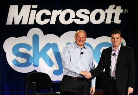 Image: Microsoft Announces Skype Acquisition For 8.5 Billion