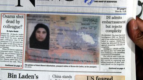 Image: Osama Bin Laden's fifth wife