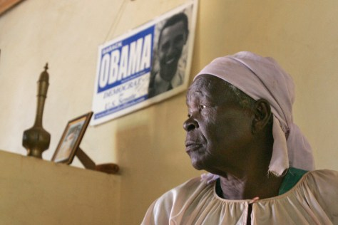 Image: Sarah Obama Onyango, step-grandmother of President Barack Obama