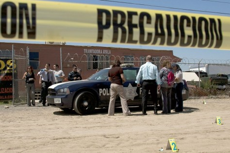 Image: Scene of Tijuana shooting