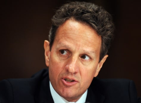 Image: US Secretary of Treasury Tim Geithner te