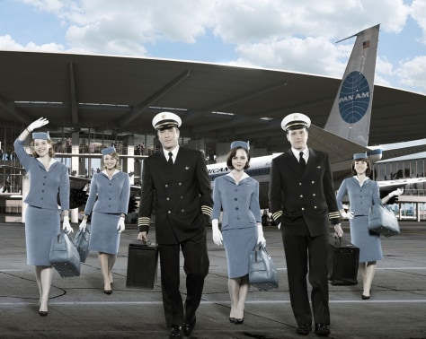 "Image: ""Pan Am"" cast"