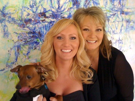 Image: Jillian and Sandra Titus