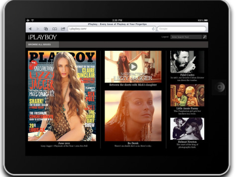 Image: Playboy online