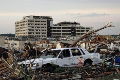 Image: Joplin devastation