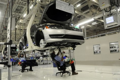 Image: Volkswagen line