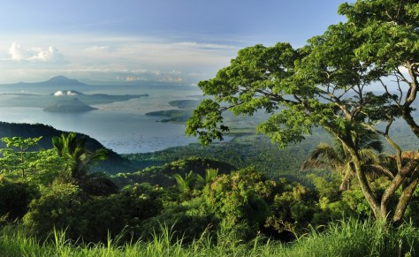 Image: Taal Lake and volcano