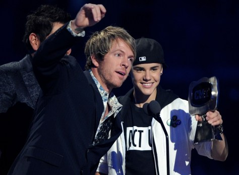 Image: Justin Bieber and Rascal Flatts