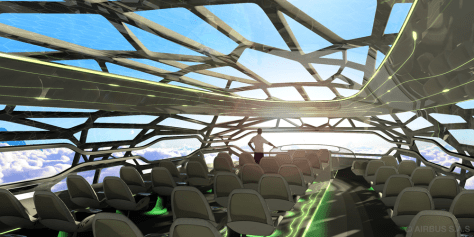 Image: The Airbus Concept Cabin