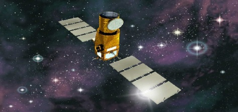 Image: Artist's impression of the CoRoT satellite