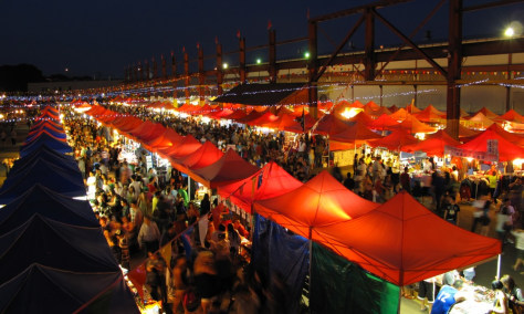 Image: Summer Night Market in Richmond, British Columbia