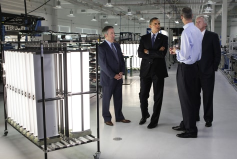 Image: Barack Obama, Chuck Swoboda, Jeff Immelt, Matthew K. Rose