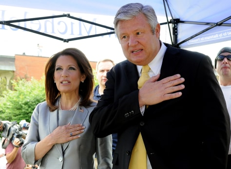 Image: Rep. Michelle Bachmann (R-MN) and her husband Marcus Bachmann
