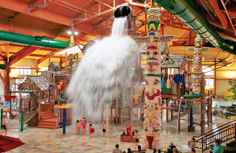 Image: Great wolf lodge