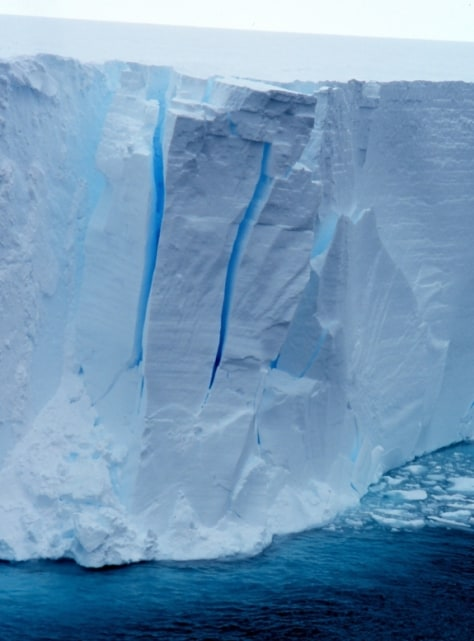 Image: Edge of Ross Ice Shelf