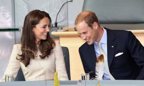 Image: The Duke And Duchess Of Cambridge