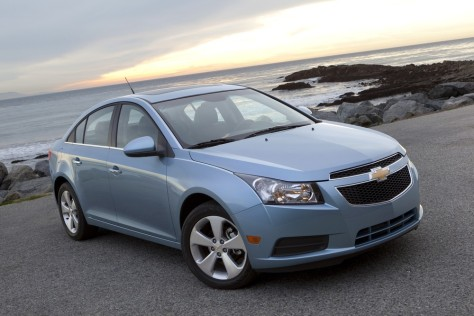 Image: Chevrolet's new compact Cruze