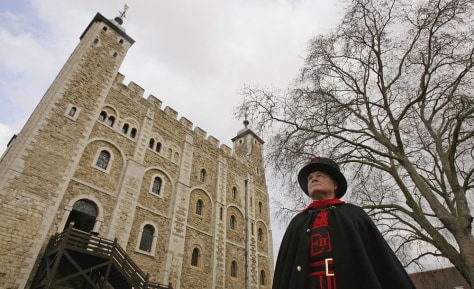 Image: Bird Flu Worries For Tower Of London Ravens