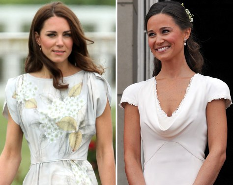 Image: Kate Middleton; Pippa Middleton