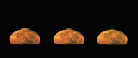 Image: Rare Moon Green Flash Captured by European Southern Observatory's Very Large Telescope in Chile