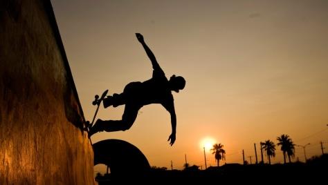 Image: Skateboarder