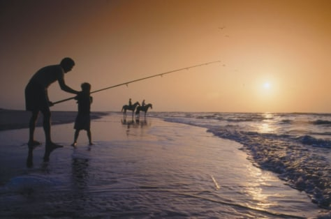 Image: SURF fishing