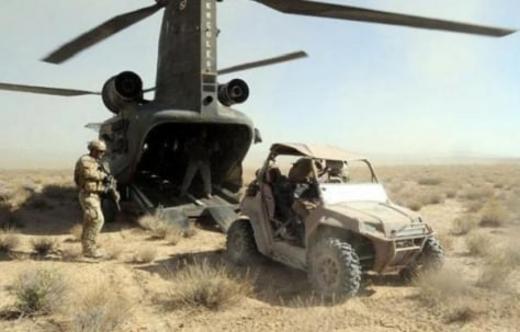 Air Force Special Forces seek stealth robot jeep - today > tech ...