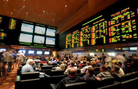Image: Mirage sports book