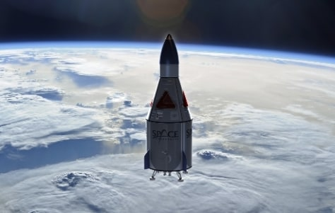 Image: Suborbital spacecraft