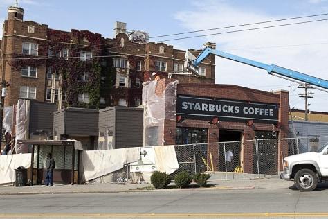 Image: Starbucks remodel