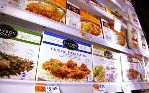 Image: Halal foods on sale at Whole Foods