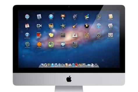 Image: Mac OS X 10.7 Lion's Launchpad application viewer.